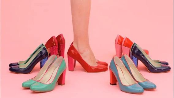 Jackie Smith Zapatos Stilettos Charol Varios Modelos Colores