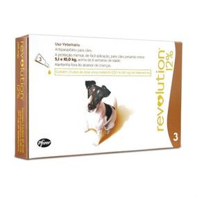 Antipulgas Combo Revolution 12% Cães 5-10kg - 3pipetas 03/21
