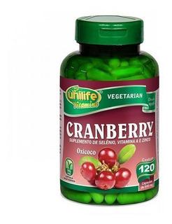 Cranberry Antioxidante Unilife - 500mg 120 Cápsulas