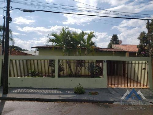 Imagem 1 de 24 de Casa Com 3 Dormitórios À Venda, 165 M² Por R$ 430.000,00 - Sabará Iii - Londrina/pr - Ca1104