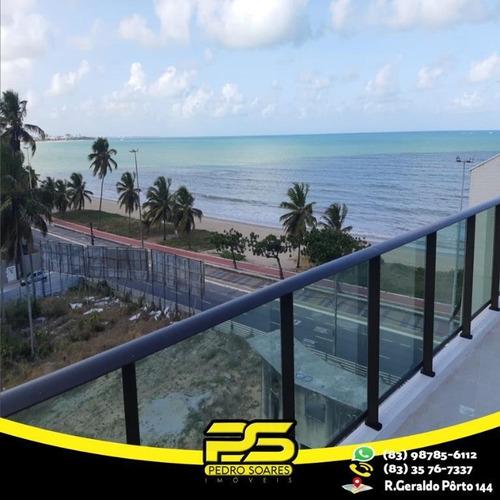 Imagem 1 de 12 de Cobertura Com 2 Dormitórios À Venda, 120 M² Por R$ 1.100.000 - Cabo Branco - João Pessoa/pb - Co0049