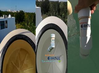 Evite Y Elimine El Sarro Tinacos-cisternas-tuberias,1100 Lts