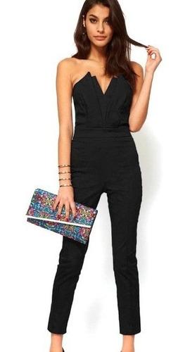 Enterizo Vestido Pantalon Diseñosextrem2013