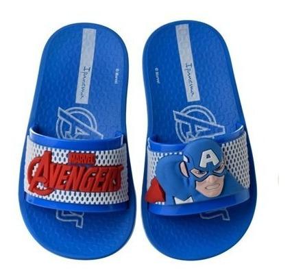 Chinelo Infantil Masculino Avengers Slide Colonelli 26161