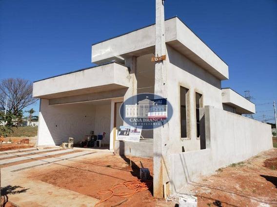 Casa Em Fase De Acabamento, Em Novo Condomínio Fechado! - Ca1586