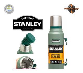 Termo Clasic Stanley 1 Litro Vertedor C/ Manija Originales!!