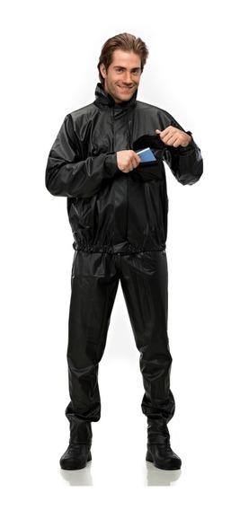 Capa De Chuva Motociclista Pantaneiro Masculina Tornado Pvc