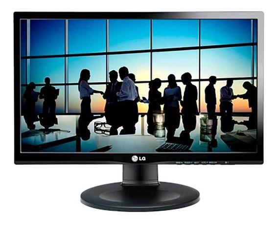 Monitor Lcd LG 19,5 20m35ph Hd Preto