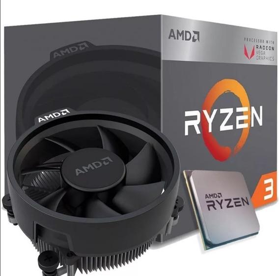 Amd Ryzen 3 2200g 3.5ghz Vega Am4