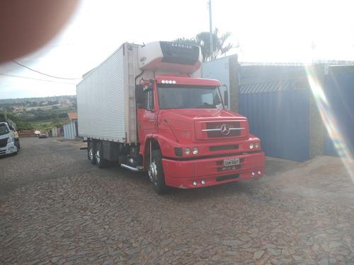 Imagem 1 de 11 de M Benz L1620 2009 345000 Bau Refrigerado  S/detalhes Novinho