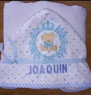 Toallon Personalizado Bebé/niño Hasta 24 Meses