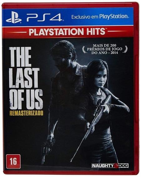 The Last Of Us Remastered Ps4 Lacrado! Loja Física!