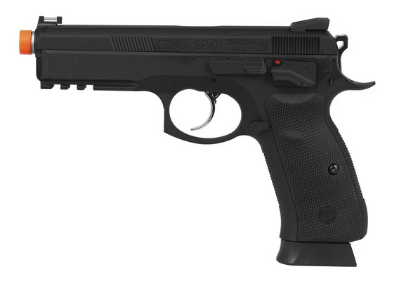 Pistola Airsoft Cz Sp-01 Shadow Blowback Ar0138