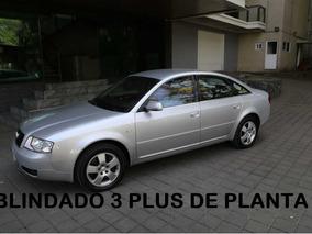 Audi A6 Quattro Blindado D Planta Nivel 3 Plus 2003 (nuevo)