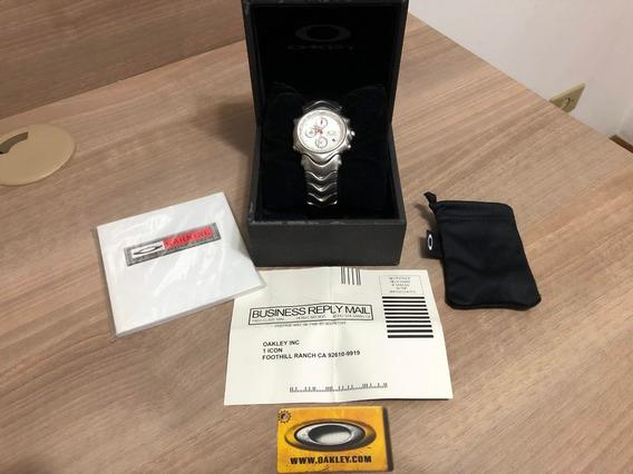 Relógio Oakley Gmt White
