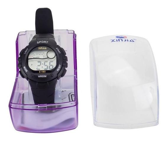 Relógio Digital Original Masculino + Certificado + Caixa