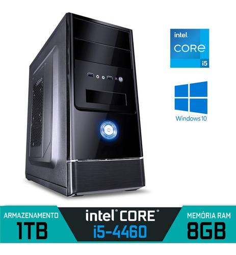 Imagem 1 de 1 de Computador Intel Core I5-4460 Ram 8gb Hd 1tb Windows 10