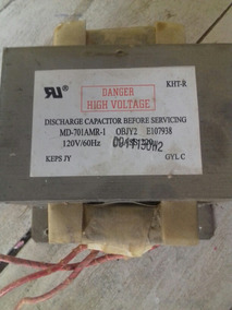 Transformador Para Microondas De Alta Voltagem 120v .