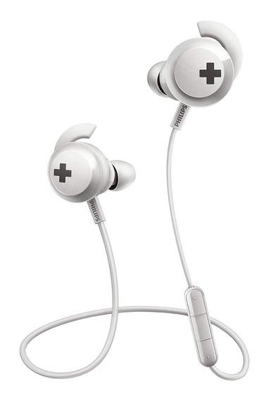 Fone D Ouvido Philips Shb4305wt C/ Bluetooth/microfone Branc