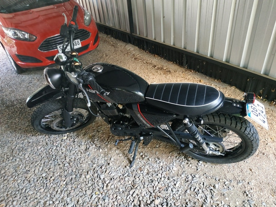 Hanway Scrambler Cg 125 Cafe Racer Enduro Nueva