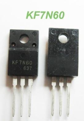 Kf7n60 Kf 7n60 Kf7n60f - Envio Imediato - 2 Pçs