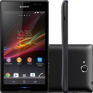 Smartphone Sony C2304 Xperia C 4gb Original Nfe   Vitrine