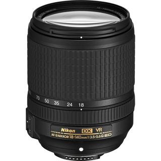 Lente Af-s Nikon Nikkor 18-140 Mm F/3.5-5.6g Vr Kit Factu A