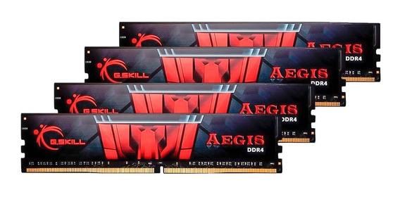 Memória Ddr4 2400 Pack 64gb (4x16gb) Quadrichannel