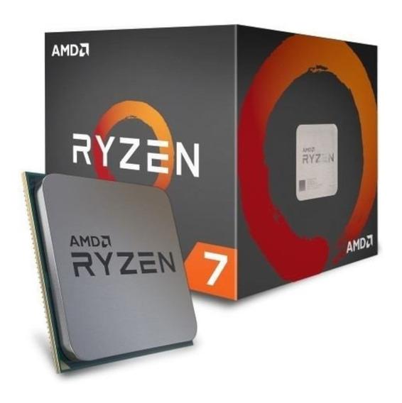 Micro Procesador Amd Ryzen 7 2700 4.1 Ghz Nucleos 8 Hilos 16