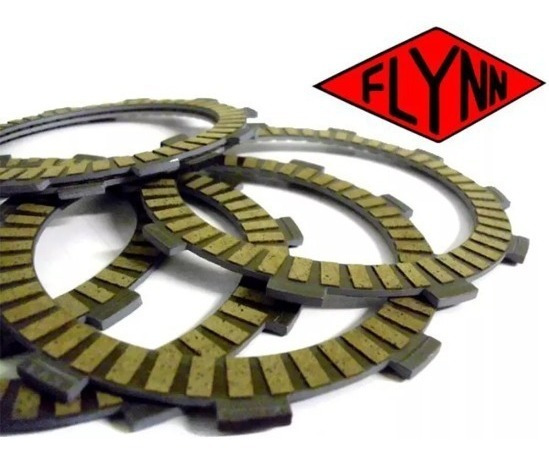 Disco De Embreagem Kasinski Mirage 250 6pçs Flynn