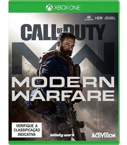 Call Of Duty Modern Warfare (midia Fisica) - Xbox One (novo)