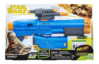 Nerf Glow Strike Lanzadora Star Wars 6 Dardos 22 Mm