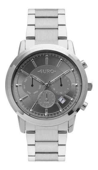 Relógio Feminino Euro Eujp25aa/3c 42mm Aço Prata