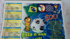 Calendario Antigo Copa Do Mundo 2002
