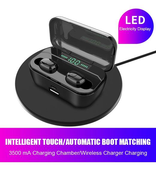 Fone De Ouvido Estéreo Sem Fio Para Esportes Bluetooth Fone