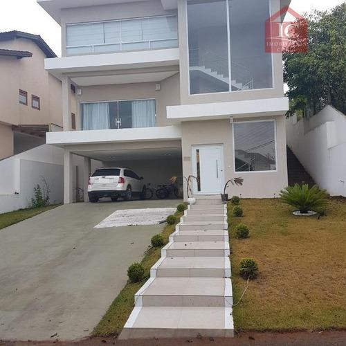 Casa Com 4 Dormitórios À Venda, 375 M² Por R$ 1.300.000,00 - Paysage Noble - Vargem Grande Paulista/sp - Ca0838