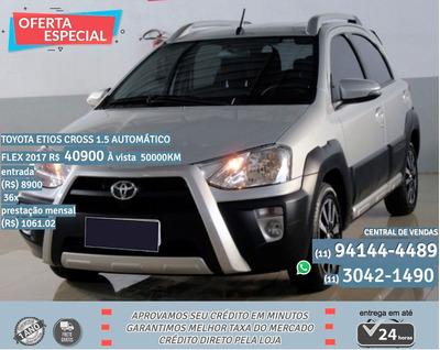 Toyota Etios Cross 2017 1.5 16v Aut. 5p