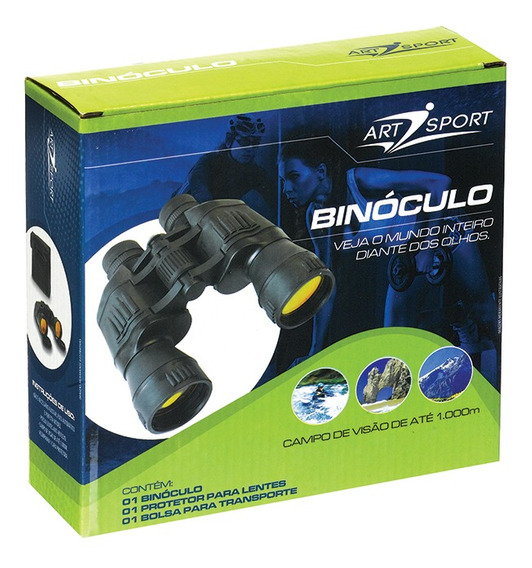 Binoculo Lente Anti Reflex Visão De Até 1000m Artsport Eg001