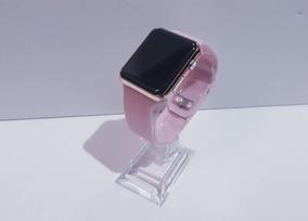 Relógio Pulso Digital Masculino Feminino Led Pulseira Extra
