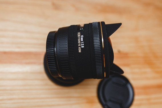 Sigma 10mm F/2.8 Ex Dc Hsm Fisheye Canon