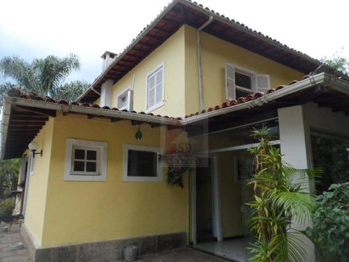 Imagem 1 de 26 de Casa Com 4 Dormitórios À Venda, 400 M² Por R$ 1.200.000,00 - Ermitage - Teresópolis/rj - Ca0392