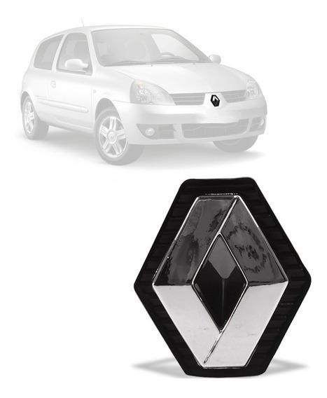 Emblema Dianteiro Renault Clio 2003 04 05 06 07 08 09 2012