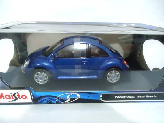Volkswagen New Beetle Maisto Special Edition Escala 1/18