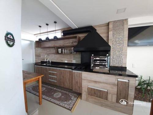 Cobertura Com 3 Dormitórios À Venda, 198 M² Por R$ 1.300.000,00 - Vila Mussolini - São Bernardo Do Campo/sp - Co0038