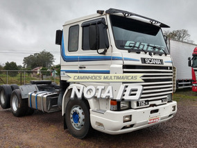 Scania 112 113 360 6x2 1986 Trucado Com Ar Condicionado