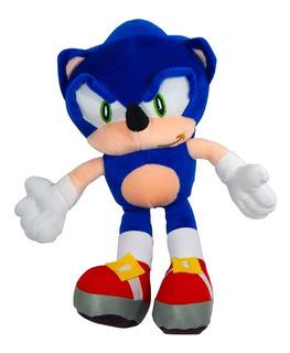 Peluche Sonic Boom 34cm Erizo Azul The Hedgehog Adventure