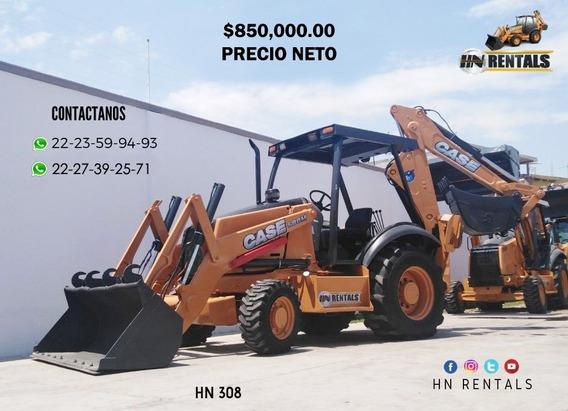 Retroexcavadora Case 580m 4x4 Año 2001 Precio Neto