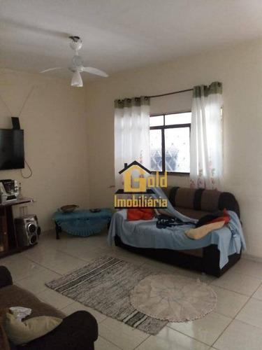 Casa Com 2 Dormitórios À Venda, 52 M² Por R$ 190.800 - Parque Ribeirão Preto - Ribeirão Preto/sp - Ca0690