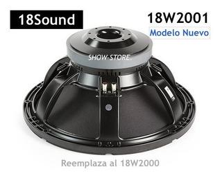 Woofer 18sound 18w2001 1200w + 2 Speakon Chasis * Italy !