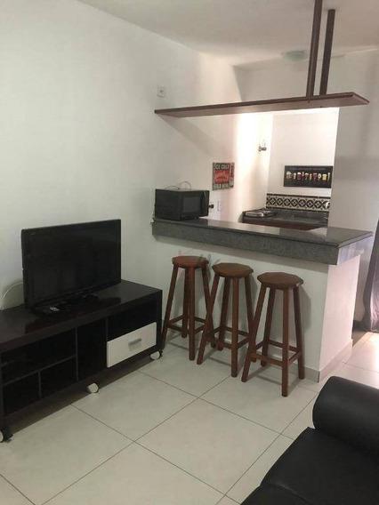 Apartamento Flat Com 1 Dormitório Para Alugar, 34 M² Por R$ 1.577/mês - Vila Suzana - São Paulo/sp - Fl0010